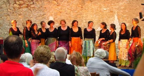 concert à l'abbaye de Sorde